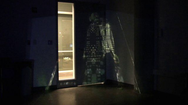 2013 KINECT + SYPHON + MADMAPPER EXPERIMENT @ MARYLAND INSTITUTE COLLEGE OF ART