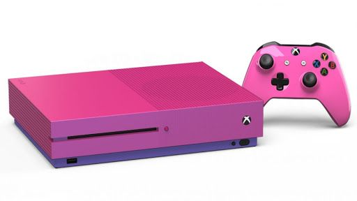 Pink Xbox One S Console