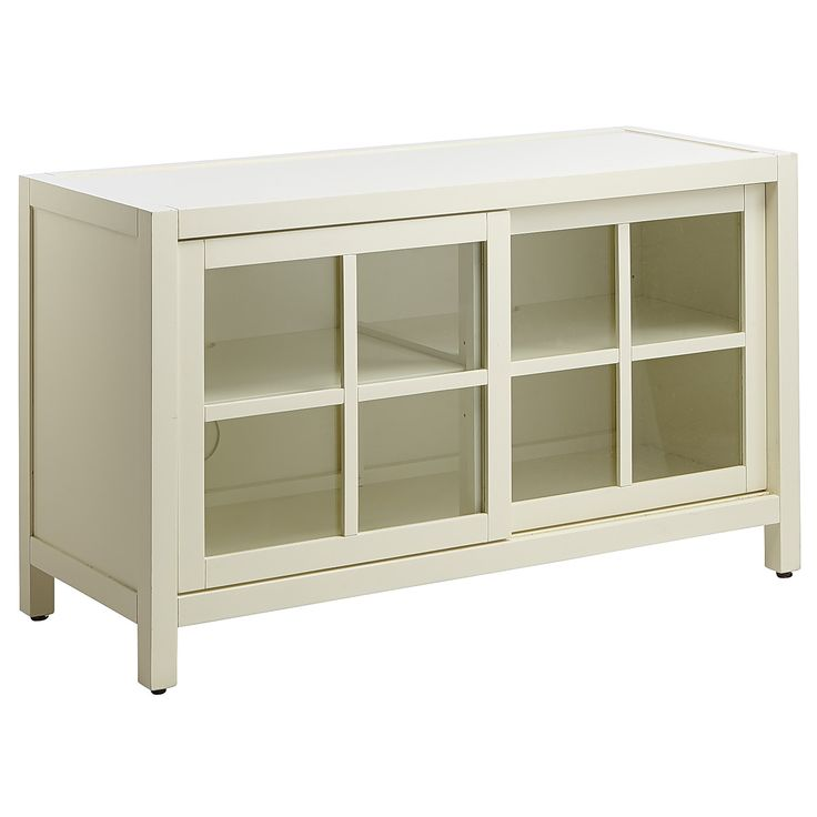 Sausaltio Small TV Stand - Antique White - Glass. Small Tv StandMedia  CabinetsTv ... - 23 Best *Media Storage > Media Cabinets* Images On Pinterest