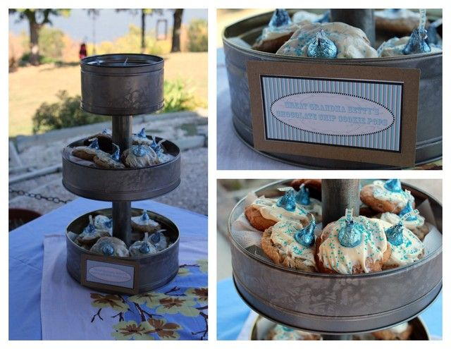 Country Chic Baby Shower Party Ideas