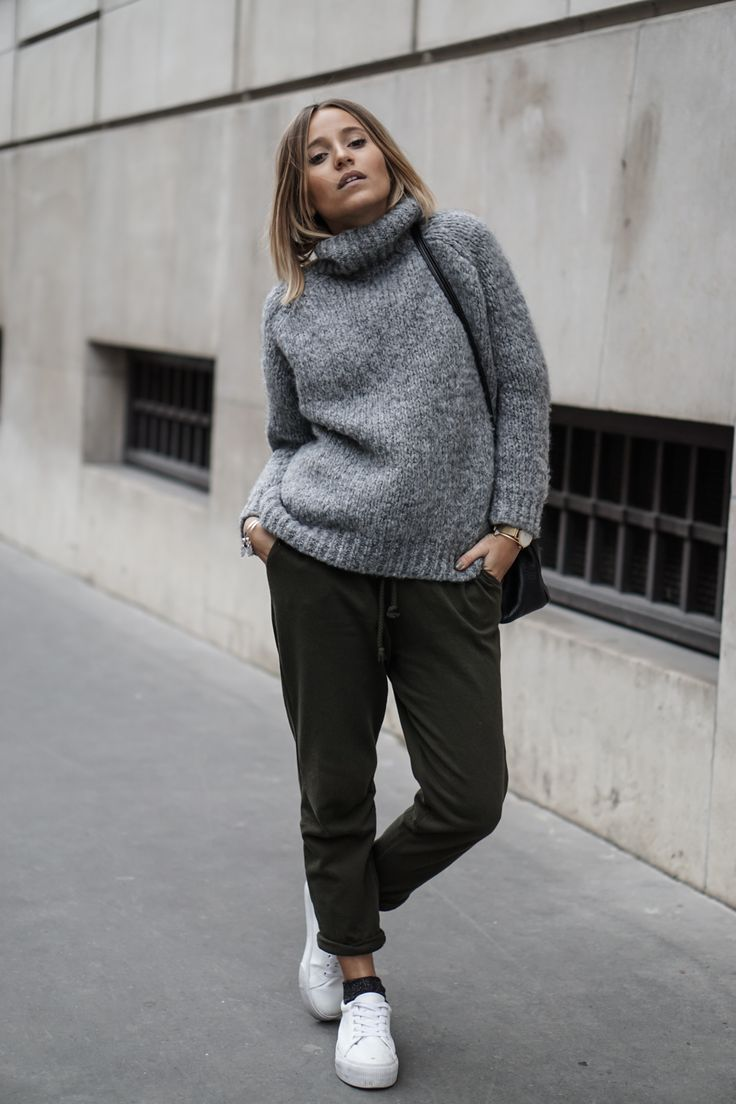 Camille / 4 janvier 2016Knit sweater and joggingKnit sweater and jogging   NOHOLITA