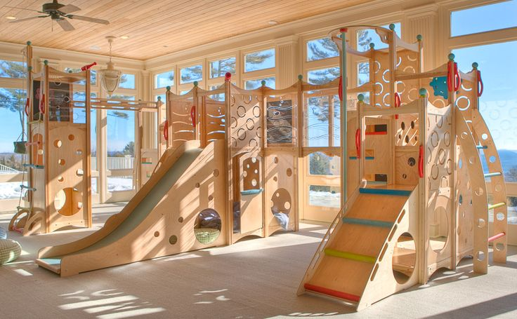 The most beautiful indoor playground that I've seen.