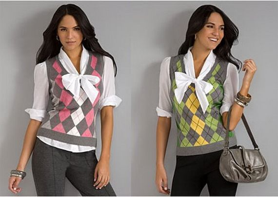 10 best Argyle chic images on Pinterest | Vests, Argyle sweaters ...