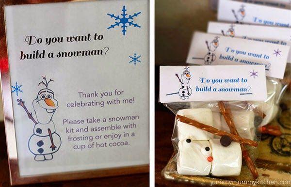 Yummy Mummy Kitchen: Disney Frozen Party Ideas- Really cute #disney #frozen birthday party #favor idea :)