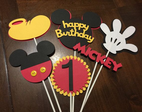 Mickey Mouse Centerpiece by JVcreationshop on Etsy