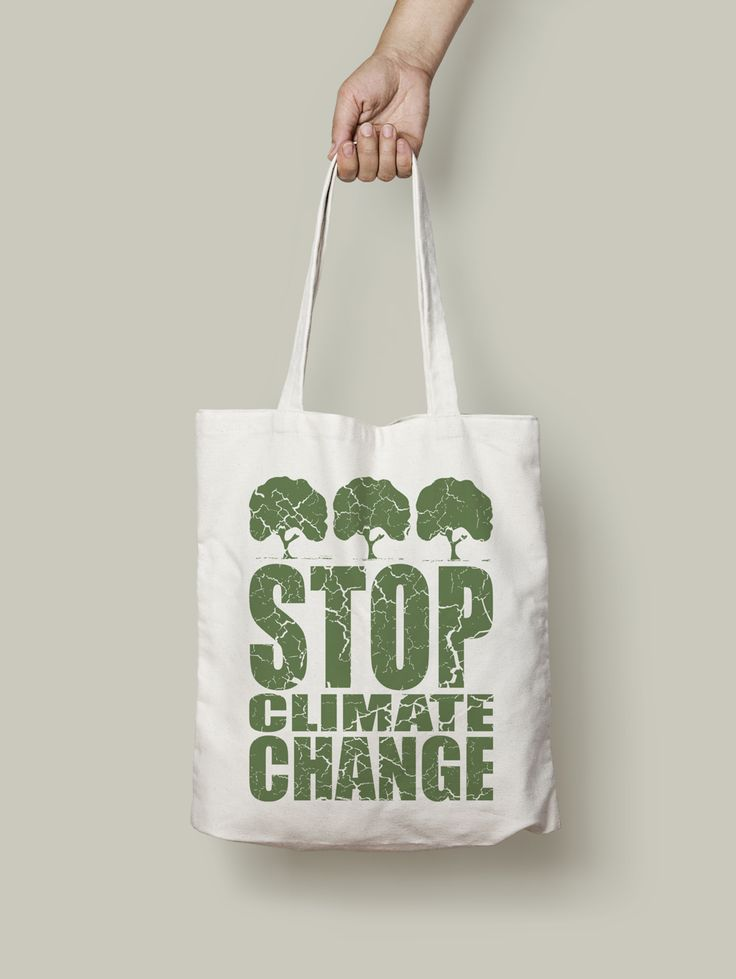 Stop Climate Change, organic Tote bag. #climatechange #tote #bag #totebag #organic #ethical #nature #enviroment #awareness #earth #accesories
