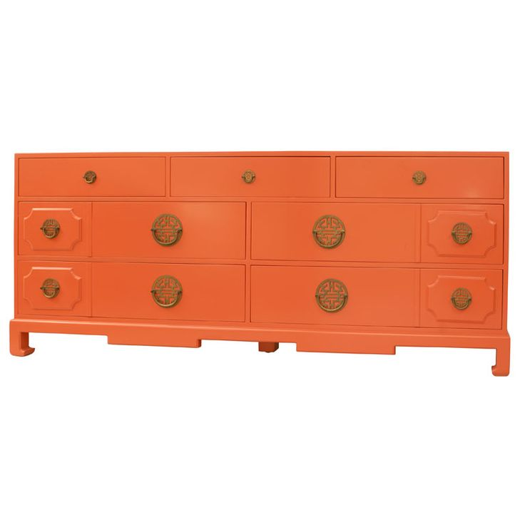 Love the orange color, asian hardward
