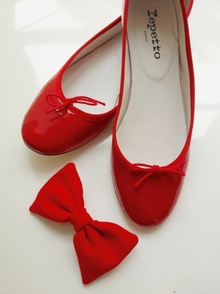 Red Repetto Ballerines BB