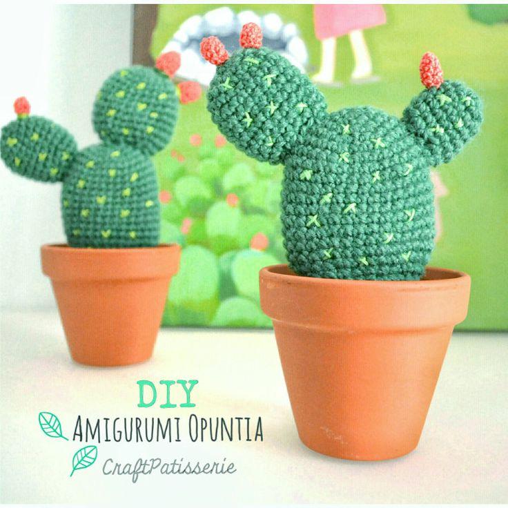 free pattern: amigurumi Opuntia da CraftPatisserie