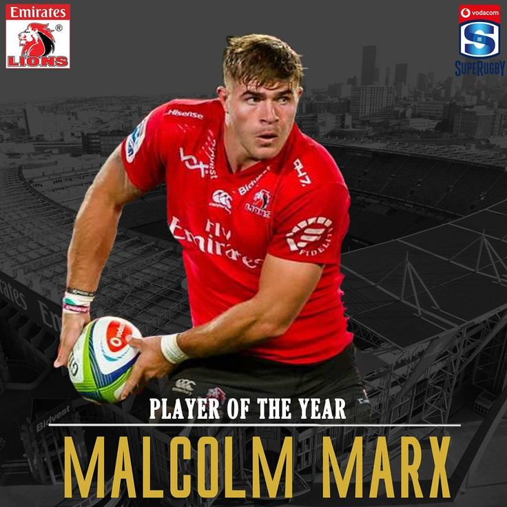 """1,841 Likes, 25 Comments - Lions Rugby Company (@lionsrugbyunion) on Instagram: """"Lions Awards 2017 Vodacom Super Rugby Player of the Year @malcolm_marx #LetsUnite"""""""