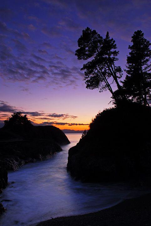 Sunset on Sooke, BC, Canada