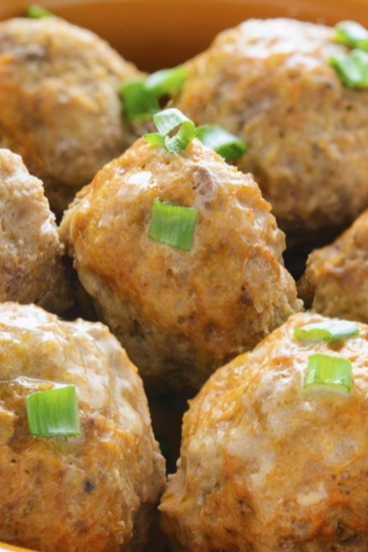 A quick and easy family recipe for chicken meatballs...