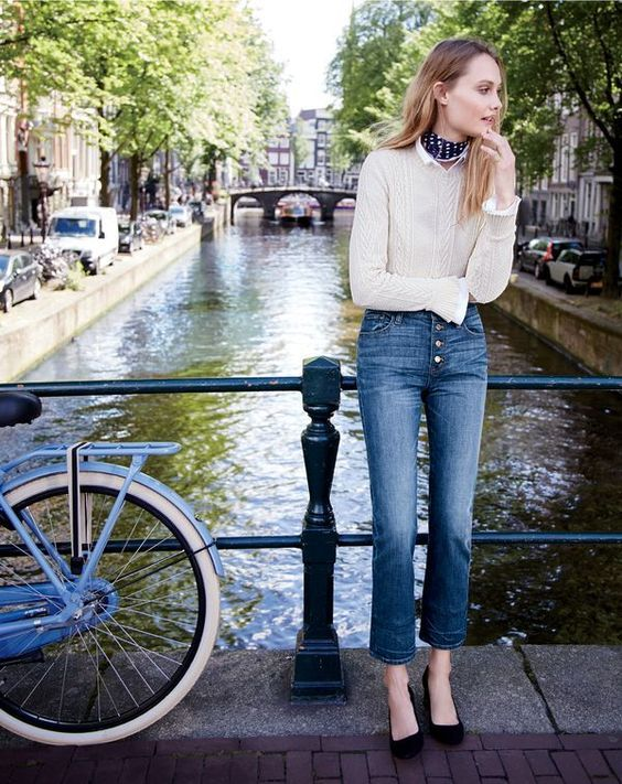 J.Crew October Style Guide in Amsterdam