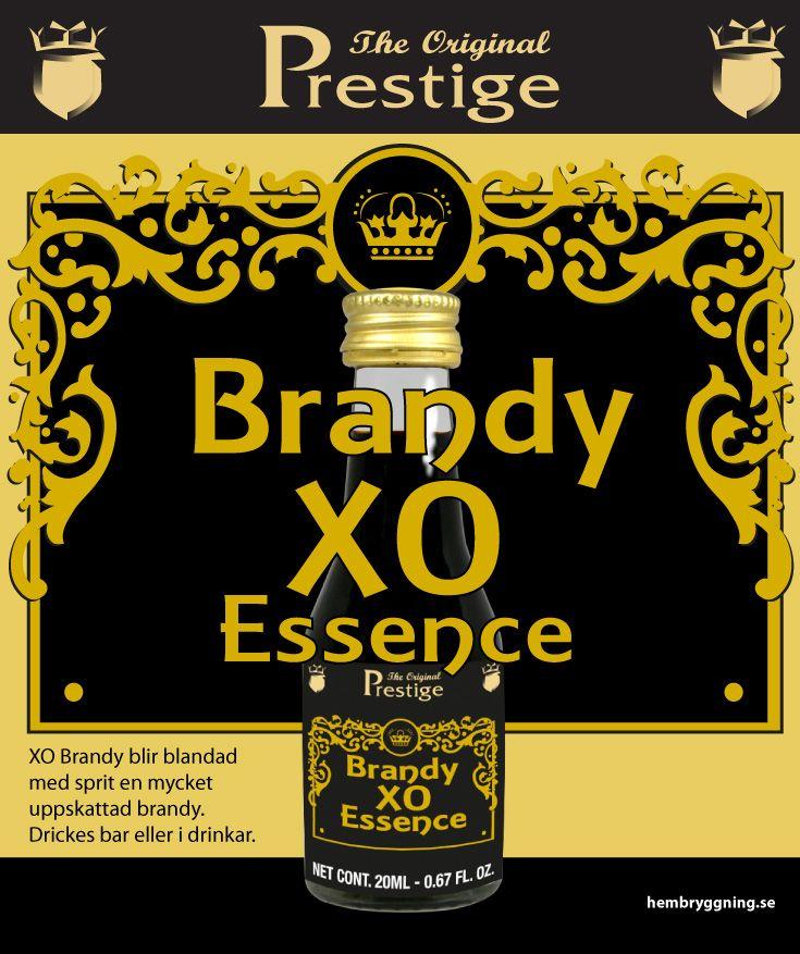 XO Brandy blir blandad med sprit en mycket uppskattad brandy. Drickes bar eller i drinkar.
