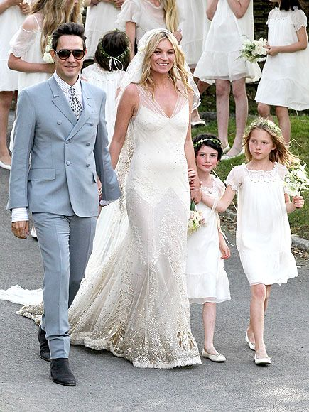 スーパーモデル、ケイト・モスのウェディング♡アメリカでの結婚式一覧♡ウェディング・ブライダルの参考に♪