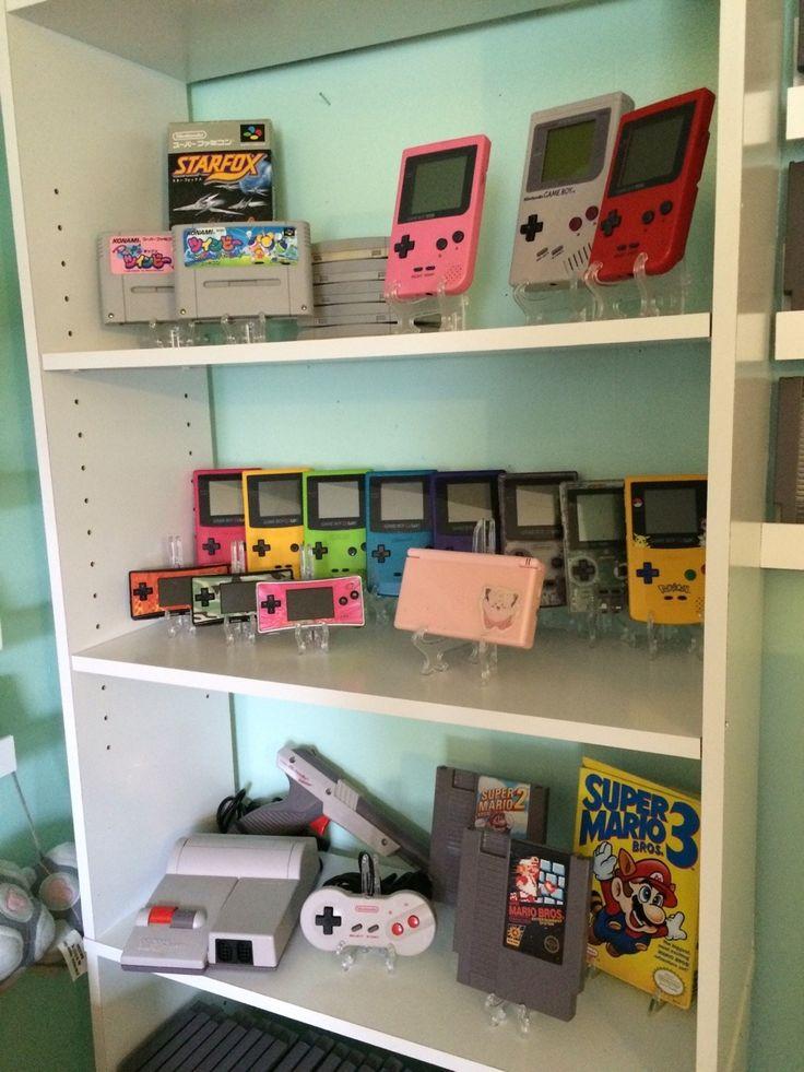 fujicucumber: 8bitrevolver: Retro Game Room... - Cool Video Game Wife