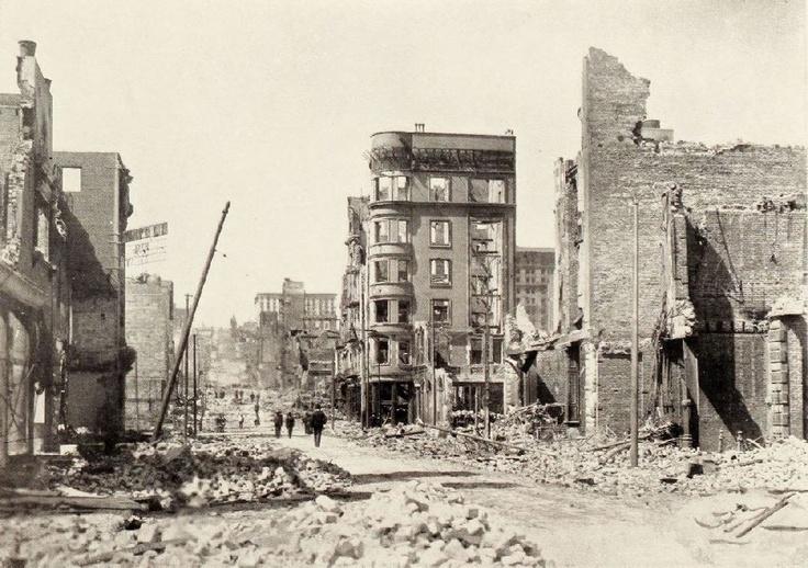 Earthquake history