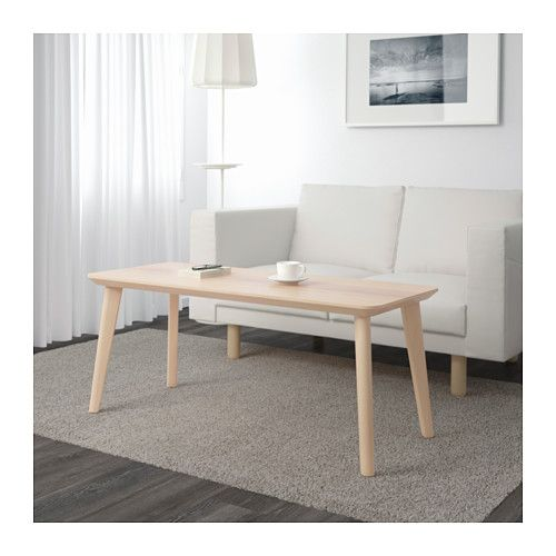 LISABO Coffee table  - IKEA  I love the look of this coffee table but I wonder if it's too tall!