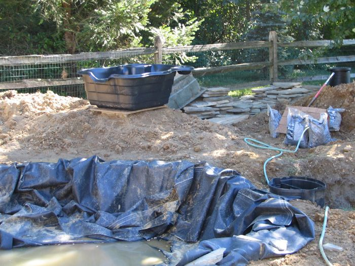 17 best images about fish pond technic on pinterest for Koi pond construction cost