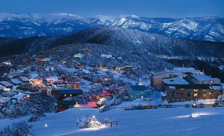 Mount Buller in the Winter, Victoria, Australia. [1600x972] [OS]