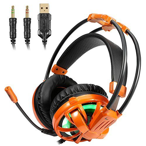 FarCry 5 Gamer  #Gaming #Headset, 7.1 #surround #sound #Earphone with #LED #Light #Noise #Isolating Over #Ear #Gaming #Headphone #Stereo #Bass with #Mic For #PC   Price:     Amazing SoundGift for GamersEUKYMR #Gaming #Headset isProfessional game #headset, #sound clarity and #sound shock feeling, capable of various games like Halo 5 Guardians, Metal Gear Solid, Call of Duty, Star Wars Battlefront, EA Sports UFC, Overwatch, World of Warcraft Legion, etc. Its super soft Over-ear