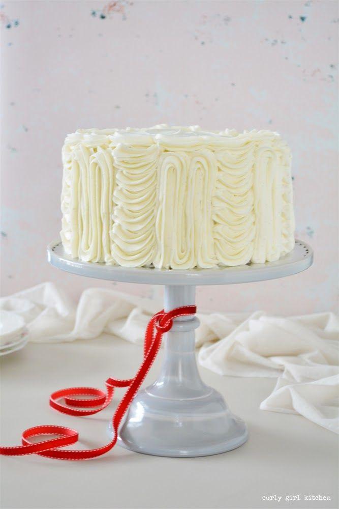 Red Velvet Cake With Vanilla Bean Cream Cheese Buttercream Curly Girl Kitchen Recipe Cake Butter Cream Alcohol Cake