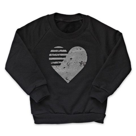 Quicksilver Graphic Heart Fleece Pullover