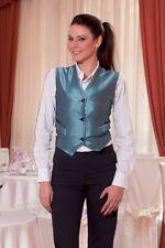 PAGAMENTO ANCHE ALLA CONSEGNA Gilet Donna da Lavoro divisa Cameriera Sala Bar Ristorante Abbigliamento Abiti