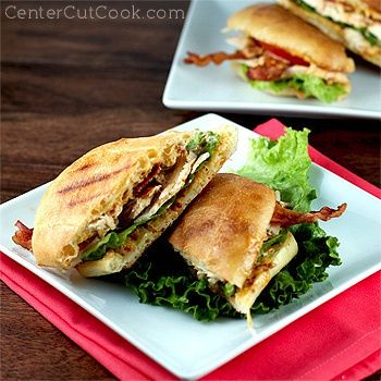 Chipotle Chicken Club Sandwich