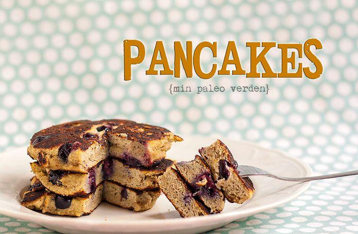 Min paleo verden: Små tykke pandekager