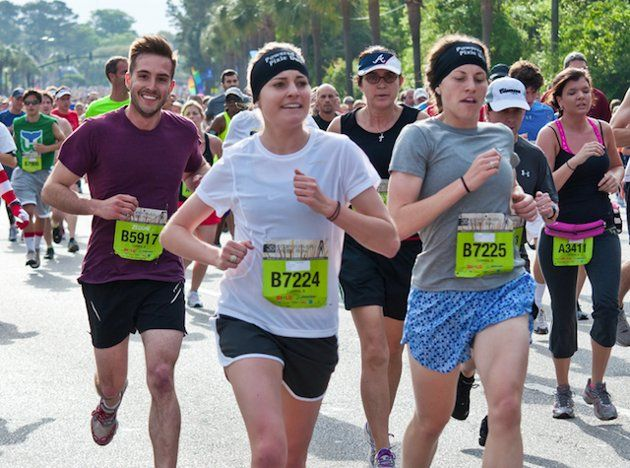 Ridiculously Photogenic Guy. Because we all look this good during a race ;)