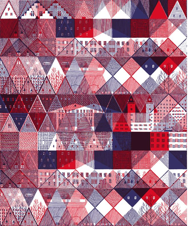 Hannah Waldron ~ Textile design for R. Newbold of Paul Smith
