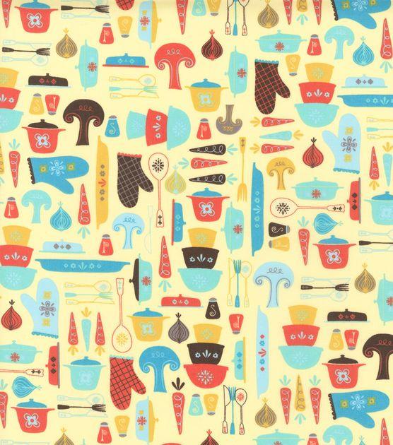Novelty Cotton Fabric Ready To Cook Fabrics Pinterest