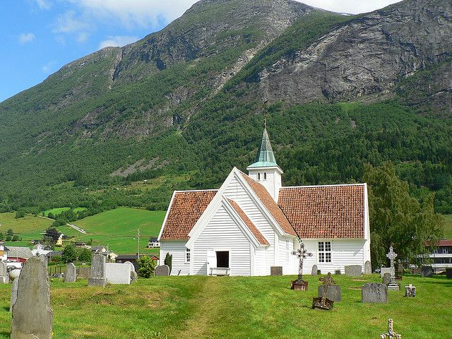 Olden Old Church - Norway