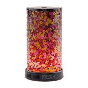 Entice Scentsy Diffuser - A handcrafted, stained glass effect gives Entice an ornate, Old World feel.