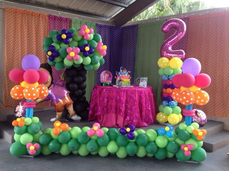 66 best party dora images on Pinterest Dora the explorer Birthday