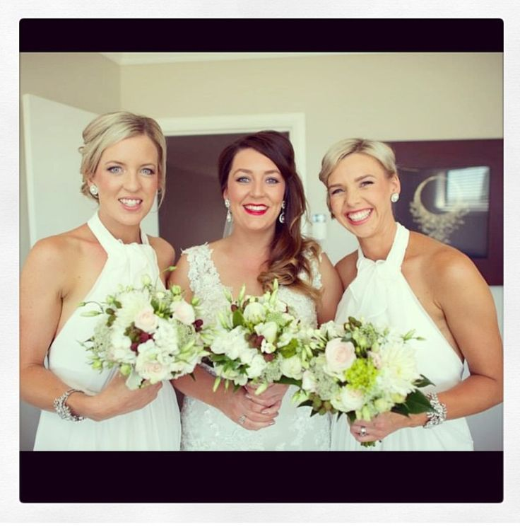 One of our summer brides from last season and her two beautiful maids!! By Bella Pelle body clinic