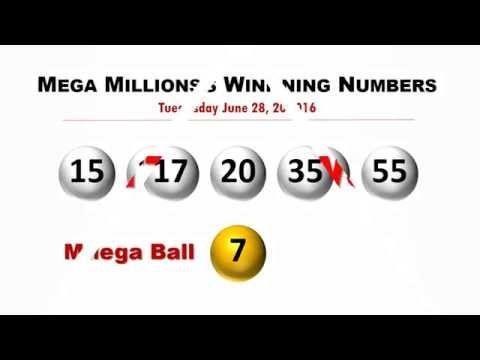 Mega Millions Winning Numbers June 28, 2016; jackpot to $415 million - (More info on: https://1-W-W.COM/lottery/mega-millions-winning-numbers-june-28-2016-jackpot-to-415-million/)