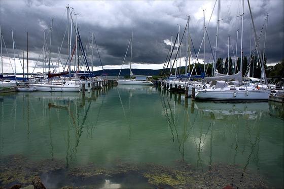 Sensitive : Szigliget , Lake Balaton, Hungary, Europe