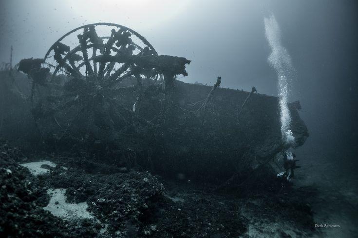 Paddle steamer PATRIS: Sunk in 1868, a unique shipwreck in the Aegean Sea, Greece