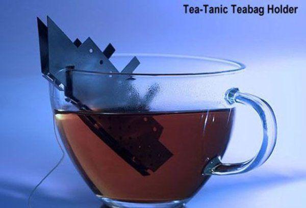 Titanic tea bag holder....
