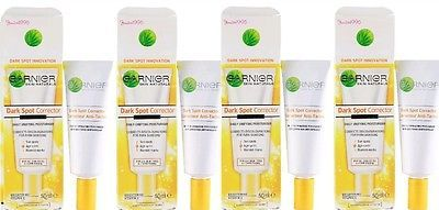GARNIER 4 X 50ml SKIN NATURALS DARK SPOT CORRECTOR DAILY MOISTURISER Skin Care