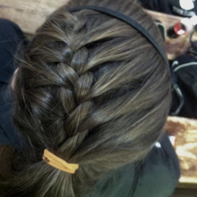Softball hair! <3 Or any sport!