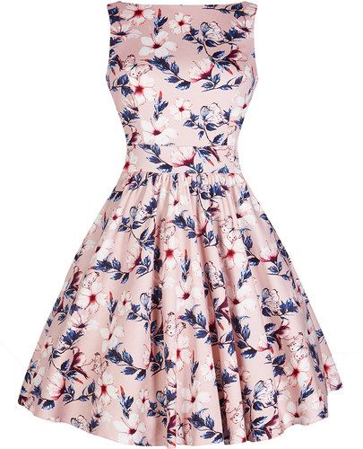 Dámské retro šaty Lady Vintage Tea Sladká něha