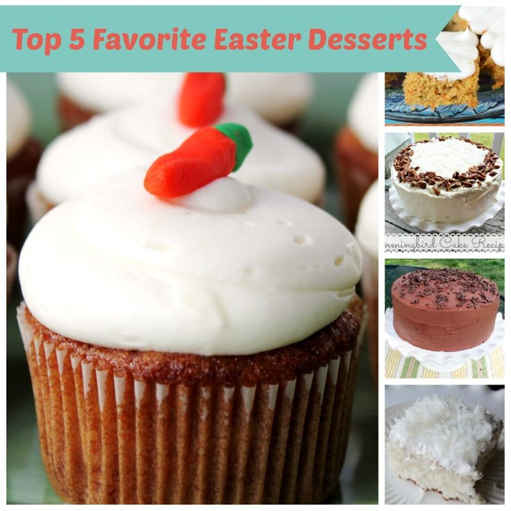 Top 5 Favorite Easter Desserts
