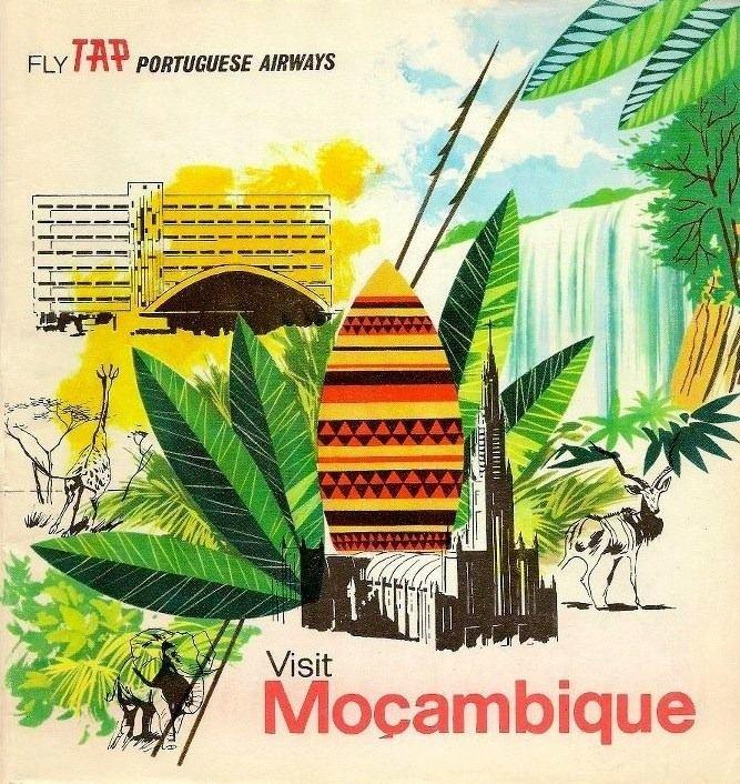 Moçambique ...adoro este poster....