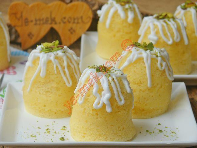 Tencerede Limonlu Fincan Kek Resimli Tarifi - Yemek Tarifleri