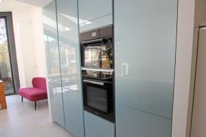 Metallic gloss kitchen colour