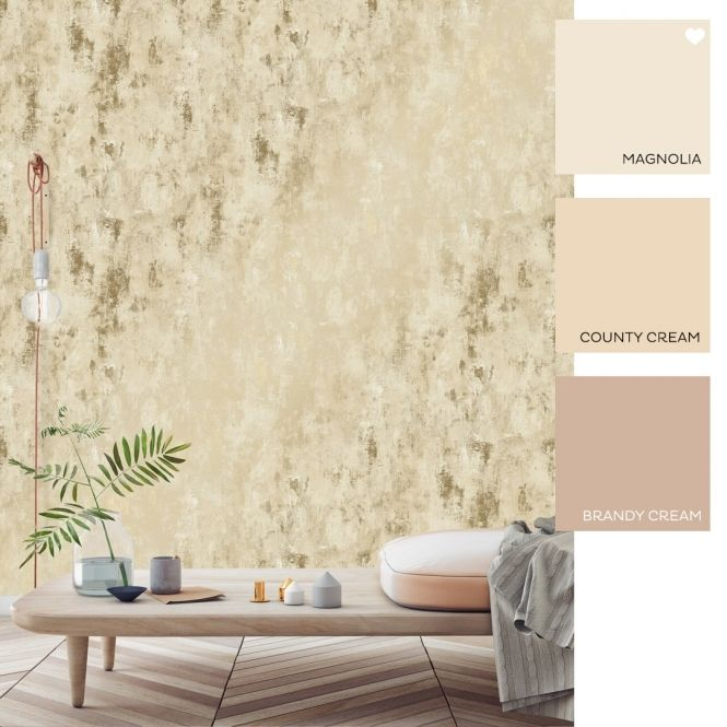 Paris Metallic Wallpaper Cream Gold Metallic Wallpaper Modern Garden Design Wallpaper Uk