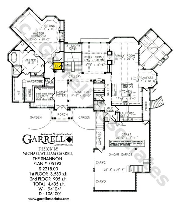 150 best coastal house plans images on pinterest house floor Coastal Ranch House Plans shannon house plan 05193, 1st floor plan, french style house plans, english tudor coastal ranch house plans